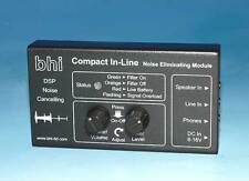 Compact In-Line DSP Noise Cancelling Module with Mono or Stereo Filtering