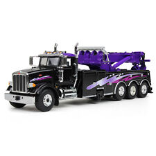1:50 First Gear *BLACK* Peterbilt 367 CENTURY ROTATOR WRECKER Tow Truck *NIB*