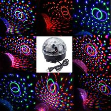 Disco DJ Stage Lighting RGB Effect Crystal Magic Ball Effect Light Digital LED