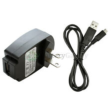 Battery Home Wall AC Charger+USB Micro Data Sync Cable For Android Cell Phone