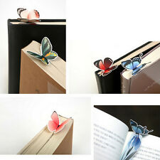 2Pcs Butterfly Shape Exquisite Mini Bookmark Stationery Read Accessories Useful