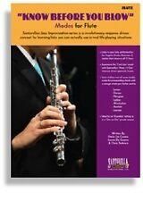 SANTORELLA KNOW BEFORE YOU BLOW JAZZ MODES FOR FLUTE