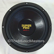 "Single 8"" inch 8 ohm Premium Home Pro Woofer Speaker Cabinet Box Replacement"