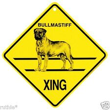 Bull Mastiff Dog Crossing Xing Sign New Bullmastiff