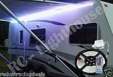 RV Awning Camper 16.4ft RGBW+W Color Changing LED Strip Light Kit, Dual Lights