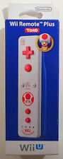 Wii / Wii U Remote Plus Toad Edition (Super Mario) Controller NEU NEW