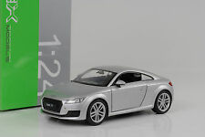 2014 Audi TT Coupe 8S silver silber 1:24 Welly