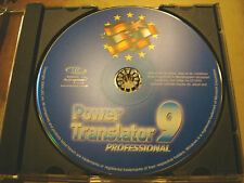 PowerTranslator 9 Pro Deutsch/English, English/Deutsch - Windows 98SE/ME/2000/XP