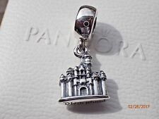 AUTHENTIC PANDORA CHARM DISNEY SLEEPING BEAUTY CASTLE