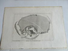 1787 PEVENSEY CASTLE SUSSEX 1785  ENGRAVING FRANCIS GROSE