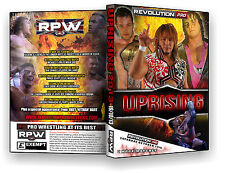 Official RPW Uprising 2013 Event DVD (Bret Hart, Tanahashi, Richards, Ricochet)