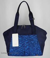NEW LULULEMON Free To Be Bag Salsa Snake Kayak Hero Blue NWT Gym Yoga FREE SHIP