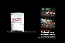 Shirakura White Mineral Powder for Live Aquarium Shrimp Crystal Red Cherry