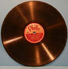 THREE BLAZERS CHARLES BROWN BABY, DON'T YOU CRY 78RPM 1946 R&B NICE COND! G+!!