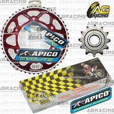 Regina 520 RH Chain Apico Sprocket Set 12T 50T Rear Red For Honda CRF 250R 2014