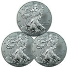 Lot of 3 - 2016 1 Troy Oz .999 Fine American Silver Eagle Coins SKU38283