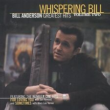 Bill Anderson - Greatest Hits, Vol. 2 1997 by Anderson, Bill Ex-library