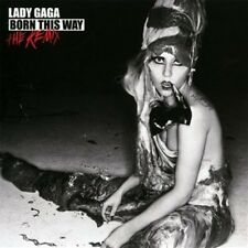 Born This Way: The Remix by Lady Gaga (CD, Nov-2011, Kon Live)