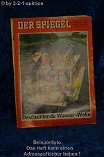 Spiegel 32/65 4.8.1965 Deutschlands Wasser-Welle