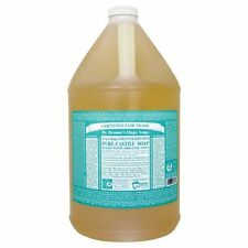 Dr. Bronners Magic Soaps - Castille Soap Baby Mild Unscented, 1 Gallon