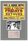The Who Detours Concert Posters and Autographs Memorabilia Poster 2 Sizes