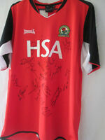 Blackburn Rovers 2002-2003 Squad SIgned Away Football Shirt with COA /14025
