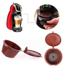 Reusable Refillable Brewers Coffee Capsules Filter Cup Refill for Dolce Gusto