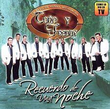 Tono Y Freddy Recuerdo De Una Noche CD