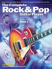 The Complete Rock And Pop Guitar Player Learn to Play Music Book 2 & CD
