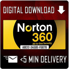 Norton 360 Antivirus 2017/2016 - 1 PC 1 Year - GENUINE License Key 24/7 Delivery