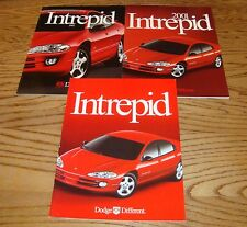 Original 2000 2001 2002 Dodge Intrepid Sales Brochure Lot of 3 00 01 02