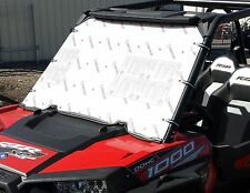 "POLARIS RZR 1000 FULL WINDSHIELD **1/4"" THICK POLYCARBONATE**"