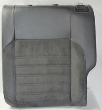 Orig VW Polo 6R 2010 Seat Seat cover Back rest rear left Leather Alcantara