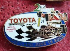 PIN'S COURSE USA F1 INDY CAR FEDEX SERIES TOYOTA PORTLAND 2002 EGF MFS