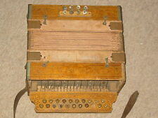 Very old Hohner 2 row  diatonic button accordion