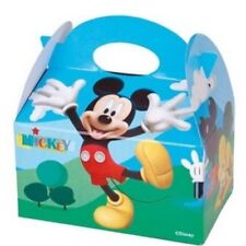 8 Mickys Clubhaus Essen Boxen Carry Mehl Kiste ~ Kinder Geburtstagsparty Bag