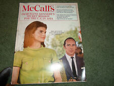 McCall's Magazine June 1968 -  Jackie Kennedy Lord Harlech In Cambodia #021615R