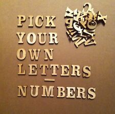 25 laser cut wooden letters, craft shapes, woodwork, crafting, embellishment