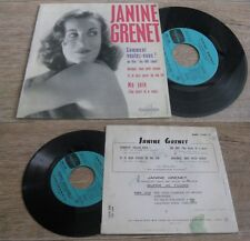 JANINE GRENET - Comment Voulez Vous French EP Columbia OST Les 400 Coups