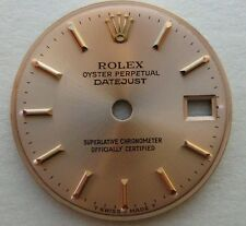 GENUINE ROLEX LADY OYSTER PERPETUAL DATEJUST 69178 WATCH DIAL CHAMPAGNE