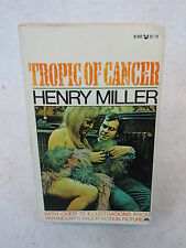 Henry Miller TROPIC OF CANCER First Black Cat Illustrated Edition#B-251 1970