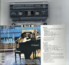 ANTONELLO VENDITTI made in ITALY  MC7 K7 musicassetta originale 1991 IL DIARIO