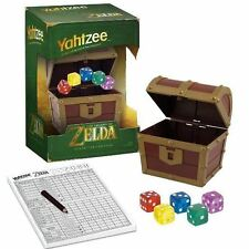 Yahtzee: The Legend Of Zelda - Chest Dice Cup Classic Board Game Hyrule NEW