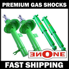 MCQ Premium Front & Rear Gas Shocks Struts 2000-2004 Ford Focus Wagon Only