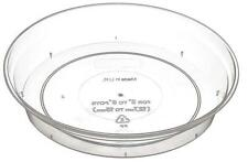 2 X ORCHID SAUCER Clear Saucer For Orchid Pots From 17cm to 19cm