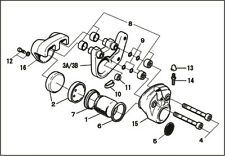 PMC Brakes caliper parts Support O Ring set