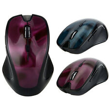 3D Estéreo Bluetooth Mouse 1600DPI óptico inalámbrico Para Windows 7/XP/VISTA