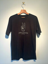 JOHN VARVATOS LONDON MAKE PEACE T SHIRT GENUINE UNISEX MADE IN USA (S) BLACK
