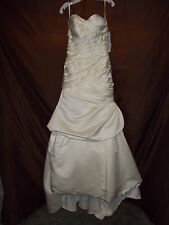 "NWT - ""Kristie Kelly"" Signature Soft White Wedding Dress (style C1202)  sz. 12"