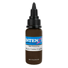Intenze Authentic Tattoo Ink Mike Demasi Collection RAW UMBER LIGHT Brown 1oz